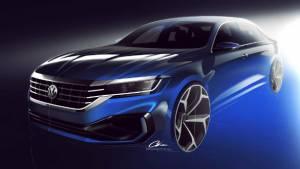 New for 2020 Volkswagen Passat teased for North America