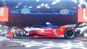 Mahindra Racing's M5Electro Formula E electric racecar debuts in India ahead of 2019 season opener
