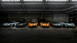 McLaren commissions six special edition cars to celebrate racing heritage