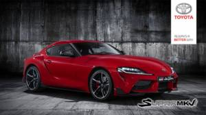 Here's what the 2020 Toyota Supra officially looks like