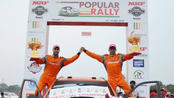 2018 INRC: Gaurav Gill claims championship title with Popular Rally victory