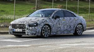 2019 Mercedes-AMG CLA 35 and CLA 45 spotted testing in near production form