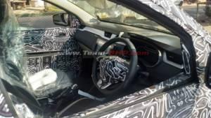 Upcoming Renault RBC MPV interior spied