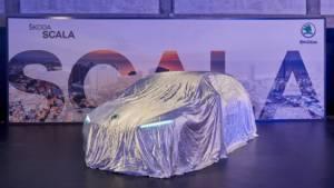 Watch the Skoda Scala hatchback's international debut here live