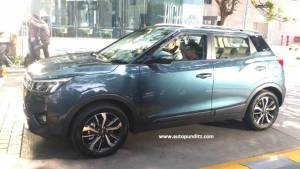 2019 Mahindra XUV300 SUV spotted on public roads undisguised