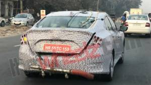 Tenth generation Honda Civic spotted undergoing emission tests in India