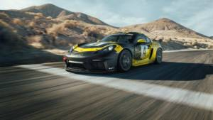 Porsche 718 Cayman GT4 Clubsport breaks cover, still has a flat-six