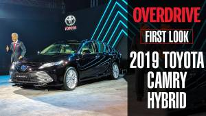2019 Toyota Camry Hybrid | First Look