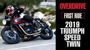 2019 TRIUMPH SPEED TWIN- First Ride