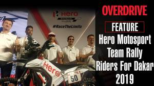 Dakar 2019 Hero MotoSports Team Rally riders prepped