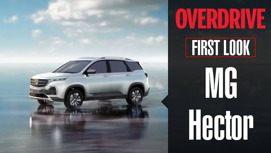 First Look Mg Motor Hector Suv Features Specifications Launch
