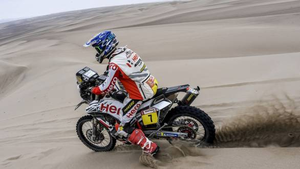 Dakar 2019: Hero Motorsports rider Oriol Mena breaks into the overall top 10 after Stage 8