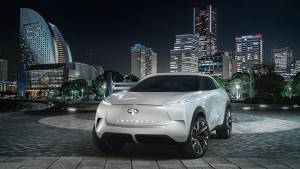 2019 Detroit Auto Show: Infiniti QX Inspiration electric SUV concept to be showcased