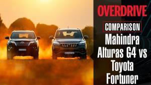 Mahindra Alturas G4 vs Toyota Fortuner | Comparison Test