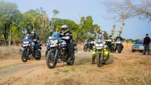 Triumph India announces second edition of Tiger Trails Thar desert