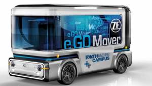 CES 2019: ZF leads the race in autonomous driving solutions with ProAI, RoboThink and eGO PeopleMover
