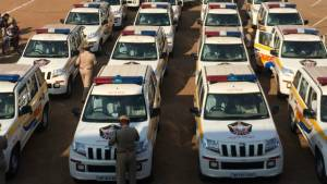 242 Mahindra TUV300 SUVs added to Andhra Pradesh police fleet