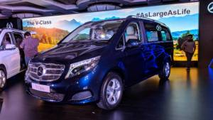 Image gallery: 2019 Mercedes-Benz V-Class MPV India launch