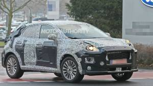Next-generation Ford Ecosport SUV spotted testing