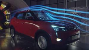 Upcoming Mahindra XUV300 SUV undergoes wind tunnel testing at Pininfarina's facility