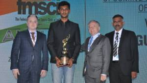 2018 FMSCI Annual Awards:  Raghul Rangasamy wins Upcoming Motorsports Person Of The Year award
