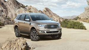 2019 Ford Endeavour facelift SUV bookings open in India