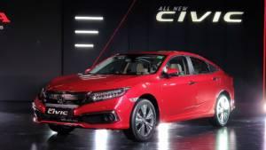 India-spec 2019 Honda Civic sedan technical specifications revealed