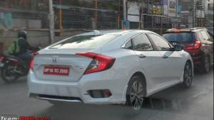 2019 Honda Civic spotted undisguised ahead of launch