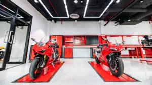 Ducati motorcycles open a training centre in Thailand