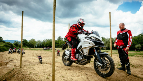 Ducati's DRE Off Road Days to happen this weekend