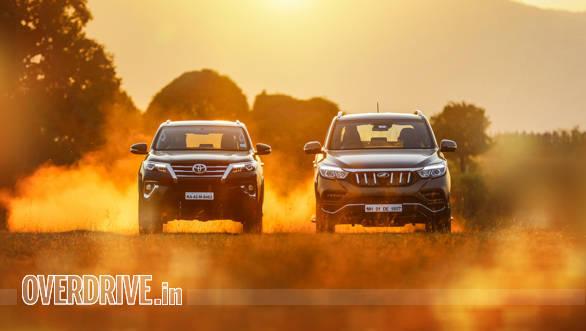 Comparison test: Mahindra Alturas G4 vs Toyota Fortuner