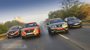 Comparison test: Nissan Kicks vs Hyundai Creta vs Renault Captur vs Maruti Suzuki S-Cross