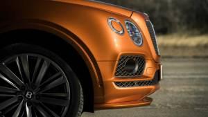 Image gallery: 2019 Bentley Bentayga Speed SUV
