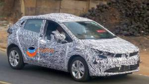 Upcoming 2019 Tata Altroz premium hatchback spotted testing in near-production form