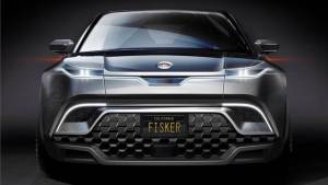 Fisker's all-electric SUV teased, to offer 480km driving range
