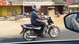 Exclusive: 2019 Bajaj CT100 ES spotted on test