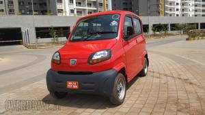 Bajaj Qute Quadricycle to be launched in India on April 18