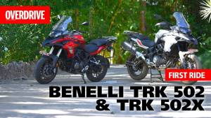 Benelli TRK 502 and TRK 502 X- First ride