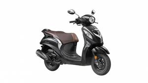 2019 Yamaha Fascino Darknight launched in India at Rs 56,793