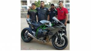 India's first Kawasaki Ninja H2R delivered in Pune