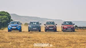 Comparison test: Mahindra XUV300 vs Ford Ecosport vs Tata Nexon vs Maruti Suzuki Vitara Brezza