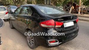 2019 Maruti Suzuki Ciaz with 1.5-litre diesel engine spotted on test