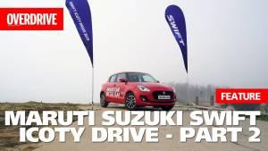All-new Maruti Suzuki Swift ICOTY DRIVE Part 2