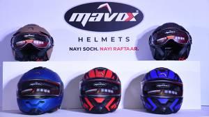 Sandhar Amkin Industries launches ISI certified Mavox Helmets