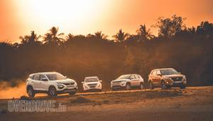 Comparison test: Tata Harrier vs Hyundai Creta vs Mahindra XUV 500 vs Jeep Compass