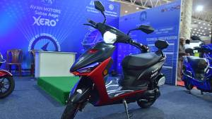 Avan Trend E electric scooter launched in India at Rs 56,900