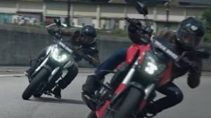 2019 Bajaj Dominar 400 could be getting new colour options as shown in the latest TVC
