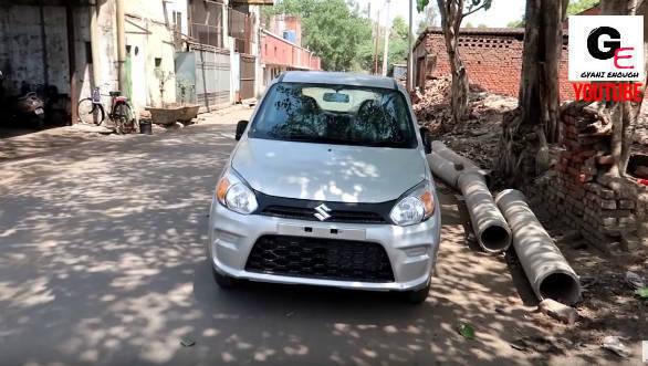 2019 Maruti Suzuki Alto 800 facelift spotted undisguised