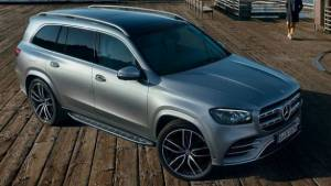 Upcoming Mercedes-Benz GLS SUV leaked ahead of NYIAS debut