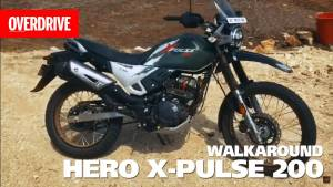 2019 Hero X-Pulse 200 walkaround